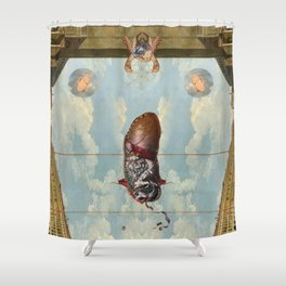 SOL INVICTUS - MITRE - II Shower Curtain