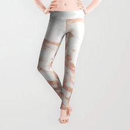 Taggia rose gold marble Leggings