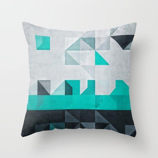 crysopryse lyne Throw Pillow