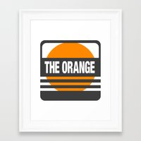 metal gear solid Framed Art Prints featuring Metal Gear Solid: The Orange by koukiburra