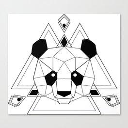 Panda geometric Canvas Print