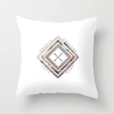 Artist's Mantra Throw Pillow