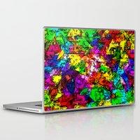 superhero Laptop & iPad Skins featuring Superhero Dreamscape by Glanoramay