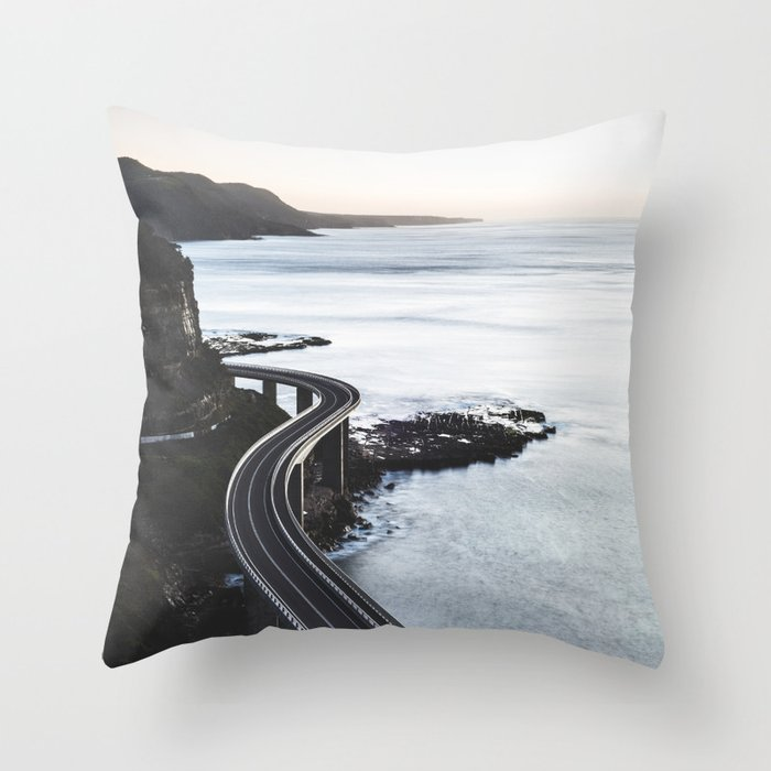 Ocean Coast Trip 3 Throw Pillow