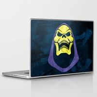skeletor Laptop & iPad Skins featuring Skeletor by Some_Designs