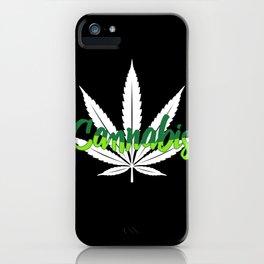 Cannabis | Marijuana Weed Pot Head Gifts iPhone Case