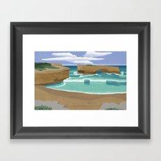 Edge of Oz #3 Framed Art Print