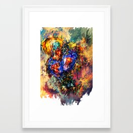 Genos Framed Art Print