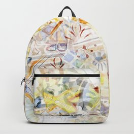 Mosaic of Barcelona XI Backpack