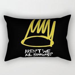 Born sinner Rectangular Pillow