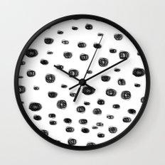 dots dots Wall Clock