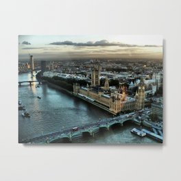 London - Palace Of Westminster Metal Print