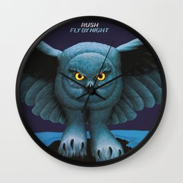 Rush Fly By Night Wall Clock