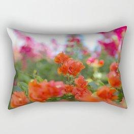 Jamaican Bogenvia, II Rectangular Pillow