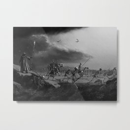 March of the Necromancer Metal Print