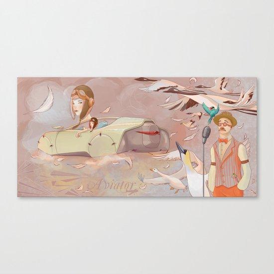 Aviator Night Canvas Print