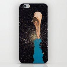 Globular Girl iPhone Skin