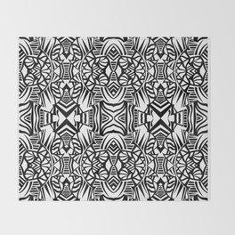 Tiki Totem Throw Blanket
