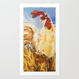 Coop Caper Art Print