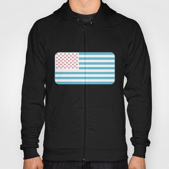 U.S.A. Flag Modified Hoody