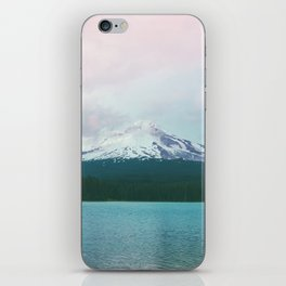 Mountain Lake - Nature Photography - Turquoise Teal Pink iPhone Skin