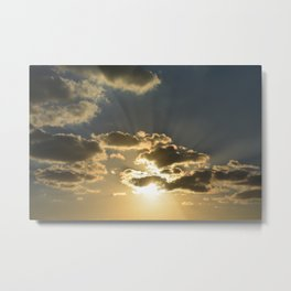 Sunset From Heaven Metal Print