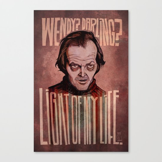 Light of my Life // The Shining Canvas Print