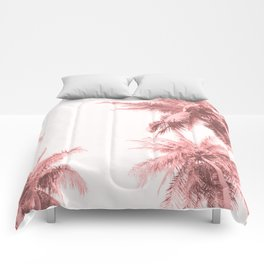 California Dreamin' in Pink Comforters