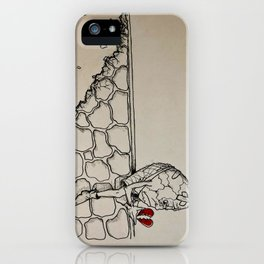 Couldn't Put Humpty Together Again iPhone Case