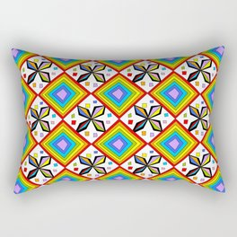 symetric patterns 75-mandala,geometric,rosace,harmony,star,symmetry Rectangular Pillow