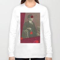 david lynch Long Sleeve T-shirts featuring David Lynch by Naomi Vona