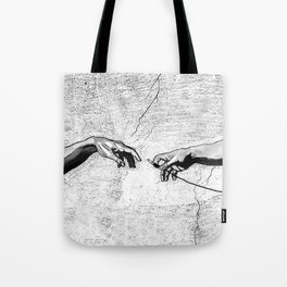 Creation of AUX Tote Bag