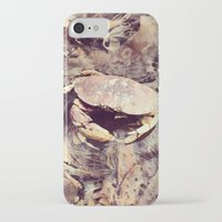crab iPhone & iPod Cases featuring Crab by Ken Seligson