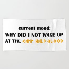 Camp Half-Blood (Percy Jackson) Beach Towel