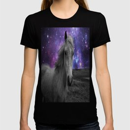 Horse Rides & Galaxy skies T-shirt
