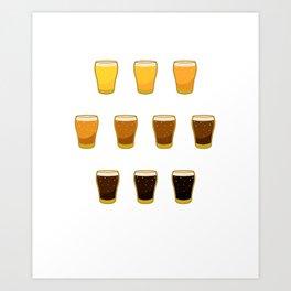 Craft Beer Craft Beer Lover Ipa Beer Microbrewing Art Print