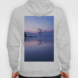 Tranquil blue nature Hoody