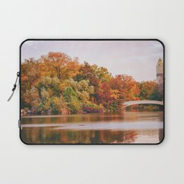 Autumn Colors Are the Best Colors - New York City Laptop Sleeve