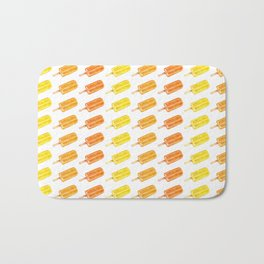 Colorful Popsicles - Summer Pattern Bath Mat