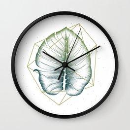 Geometry and Nature II Wall Clock