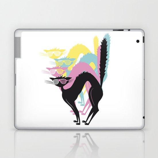 CMYK Club Cat Laptop & iPad Skin