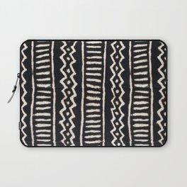 African Vintage Mali Mud Cloth Print Laptop Sleeve