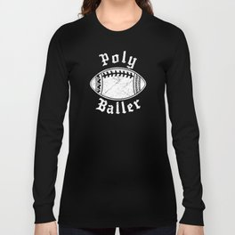 Polynesian Football Family Long Sleeve T-shirt