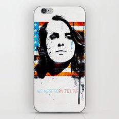Born to dream iPhone & iPod Skin