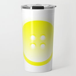 Button (from Design Machine archives) Travel Mug