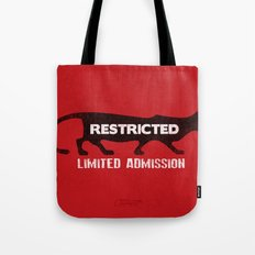 Restricted Cougar Tote Bag