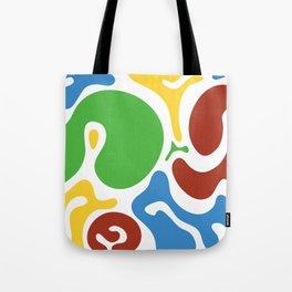Spot colors Tote Bag