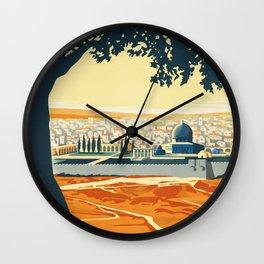 Palestine Wall Clock