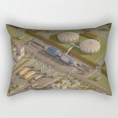 Biogas City Rectangular Pillow
