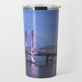 Lincoln Bridge Louisville, KY Travel Mug